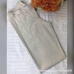 J. Crew Stretch 10 Tall City Fit Chinos